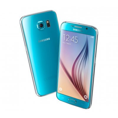 Фото Смартфон Samsung Galaxy S6 Duos 64 Gb голубой - #1