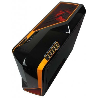 Фото Корпус системного блока NZXT Phantom Black/orange (USB 3.0) - #2
