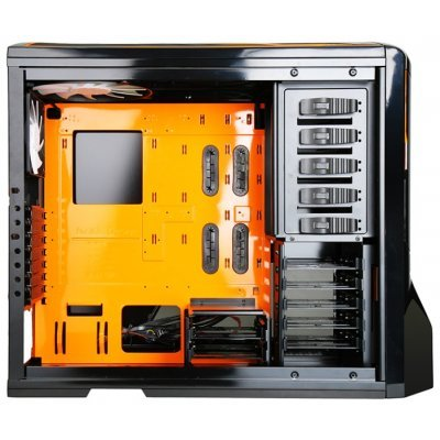 Фото Корпус системного блока NZXT Phantom Black/orange (USB 3.0) - #3