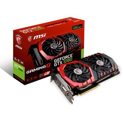 Фото Видеокарта ПК MSI GTX 1080 GAMING X 8G PCI-E16 GTX1080 8GB GDDR5X - #4