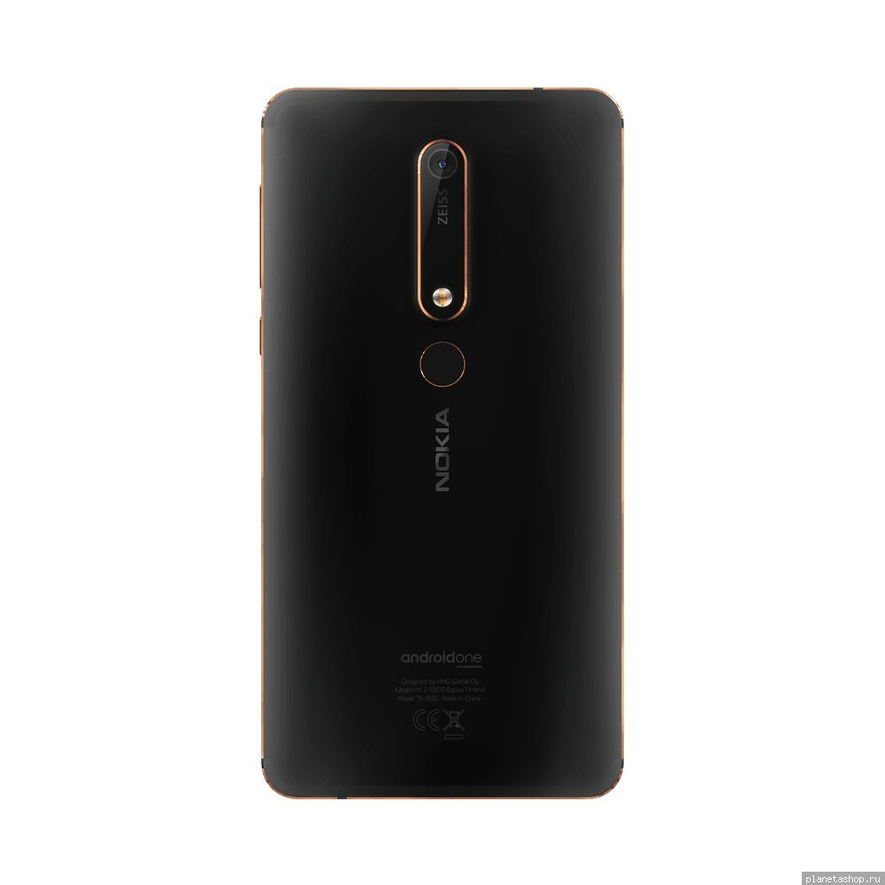 644aa0f8b2e2c Фото Смартфон Nokia 6.1 (2018) Dual Sim TA-1043 3/32Gb Black. Нет в наличии