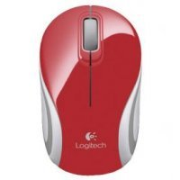 Мышь Logitech Mini M187 red (910-002737)
