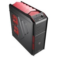 Корпус Aerocool Xpredator X1 Devil Red Edition black w/o PSU