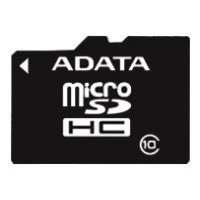 Карта памяти A-Data 32GB microSDHC Class 10 + SD adapter