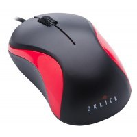 Мышь Oklick 115S Black/Red