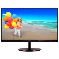 "Монитор 23"" Philips 234E5QHSB Black-Cherry"