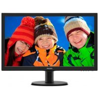 "Монитор Philips 24"" 243V5LSB (10/62) черный"