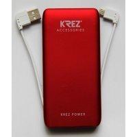 Внешний аккумулятор KREZ Power LP5001R, красный