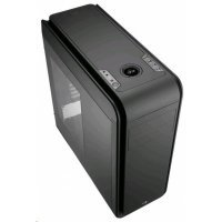 Корпус системного блока Aerocool Dead Silence 200 Lite Black Window Edition