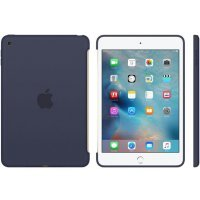 Чехол для планшета Apple для iPad mini 4 Silicone Case - Midnight Blue MKLM2ZM/A