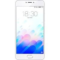 Смартфон Meizu M3 Note 32Gb серебристый белый