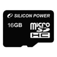 Карта памяти Silicon Power 16GB SP016GBSTH010V10