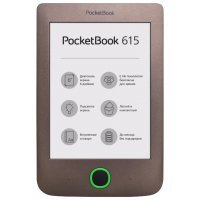 Электронная книга PocketBook 615 коричневый