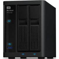 Сетевой накопитель NAS Western Digital WD My Cloud EX4  2BAY (WDBVND0000NBK-EEUE)