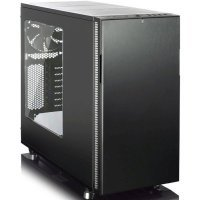Корпус системного блока Fractal Design Define R5 Blackout Edition Window черный без БП