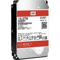Жесткий диск ПК Western Digital 10Tb SATA-III WD101KFBX Red Pro (7200rpm)