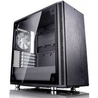 Корпус системного блока Fractal Design Define Mini C TG черный без БП
