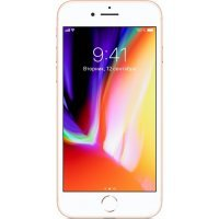 Смартфон Apple iPhone 8 256Gb (MQ7E2RU/A) Gold (Золотой)