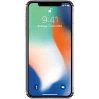 Смартфон Apple iPhone X 64GB (MQAD2RU/A) Silver (Серебристый)