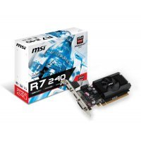 Видеокарта ПК MSI Radeon R7 240 2GB (R72402GD364BLP)
