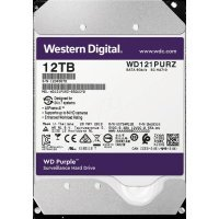 Жесткий диск ПК Western Digital 12Tb WD121PURZ, IntelliPower Purple