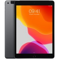 Планшетный ПК Apple iPad 10.2 (2019) Wi-Fi + Cellular 128GB MW6E2RU/A Space Grey (Серый космос)