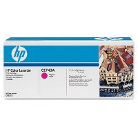 Картридж HP (CE743A) для Color LaserJet CP5220 пурпурный