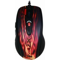 Мышь A4Tech XL-750BK red fire