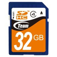 Карта памяти Team Group 32GB SDHC class 4 TG032G0SD24X