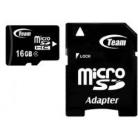 Карта памяти Team Group 4GB microSDHC Class 4 + SD adapter