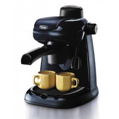 Кофеварка эспрессо Delonghi EC5 (EC 5)Кофеварки Delonghi<br>эспрессо, полуавтоматическая, для молотого кофе, ручное приготовление капуччино, одновременная раздача на 2 чашки, корпус из пластика<br>