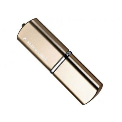 USB накопитель 16Gb Silicon Power Luxmini 720, USB 2.0, бронзовый (SP016GBUF2720V1Z) смартфон lenovo vibe c2 power 16gb k10a40 black