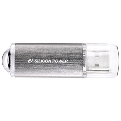 USB накопитель 32Gb Silicon Power UFD ULTIMA II-I серебристый (SP032GBUF2M01V1S) цена и фото