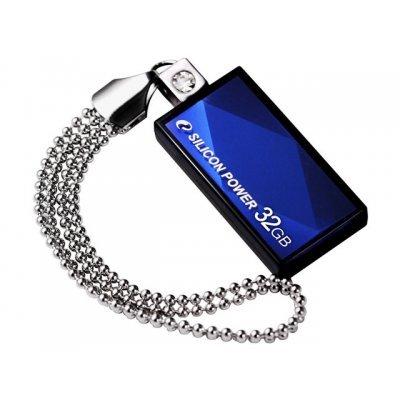 все цены на USB накопитель 32Gb Silicon Power Touch 810 USB 2.0 синий (SP032GBUF2810V1B) онлайн