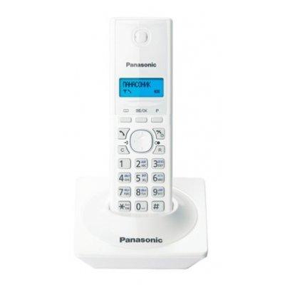 Радиотелефон Panasonic KX-TG1711 белый (KX-TG1711RUW)Радиотелефоны Panasonic<br>Телефон Panasonic KX-TG1711RUW (белый)<br>