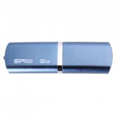 USB накопитель 32Gb Silicon Power Luxmini 720 USB 2.0 синий (SP032GBUF2720V1D)
