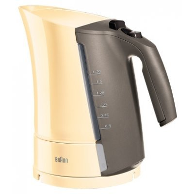 Электрический чайник Braun WK300 Кремовый (WK 300 cream)Электрические чайники Braun<br>Кухонная техника<br>