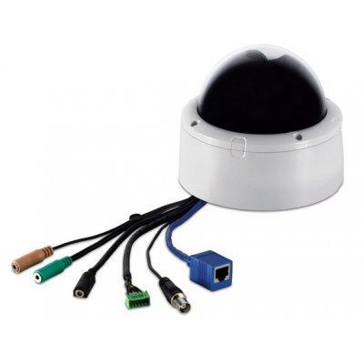 Камера видеонаблюдения TRENDnet TV-IP252P (TV-IP252P)Камеры видеонаблюдения TRENDnet<br>Купольная наклонно-поворотная  серии SecurView с технологией PoE<br>