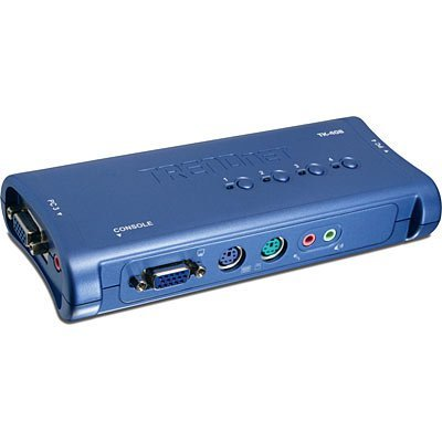 KVM переключатель TRENDnet TK-408K (TK-408K), арт: 101095 -  KVM переключатели TRENDnet