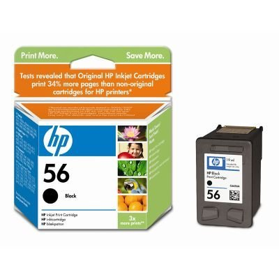 Картридж HP № 56 (C6656AE) для DJ5550,PS7150/7350 черный (C6656AE) картридж для мфу hp 56 c6656ae black