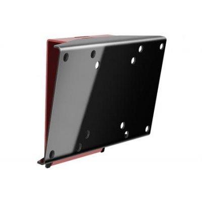 Кронштейн настенный Holder LCDS-5061 16-32 черный (LCDS-5061 BLACK)Кронштейн для ТВ и панелей Holder<br>Кронштейн Holder LCDS-5061 черный глянец для ТВ 19-32 настенный +10° (до 30кг)<br>