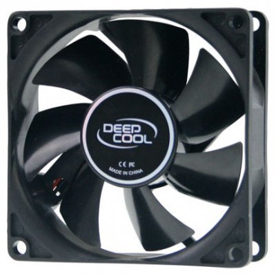 Вентилятор для корпуса DeepCool Xfan 80 (XFAN 80)Системы охлаждения корпуса ПК DeepCool<br>80X80X25mm Hydro 1800RPM<br>