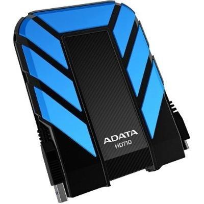 Внешний жесткий диск 1Tb A-Data HD710 синий (AHD710-1TU3-CBL) жесткий диск a data classic hv100 1tb usb 3 0 black ahv100 1tu3 cbk