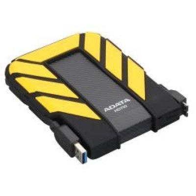 Внешний жесткий диск 1Tb A-Data HD710 желтый (AHD710-1TU3-CYL)