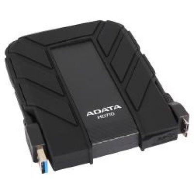 Внешний жесткий диск 500Gb A-Data HD710 черный (AHD710-500GU3-CBK)Внешние жесткие диски A-Data<br>Жесткий диск A-Data USB 3.0 500Gb HD710-500GU3-CBK 2.5 черный<br>