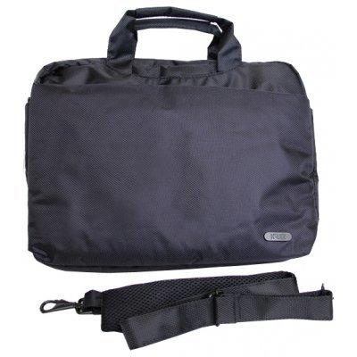 Сумка для ноутбука KREZL16-102 черный (L16-102B)Сумки для ноутбуков KREZ<br>сумка<br>для 16 ноутбуков<br>из синтетических материалов<br>отделение-органайзер<br>водонепроницаемый материал<br>