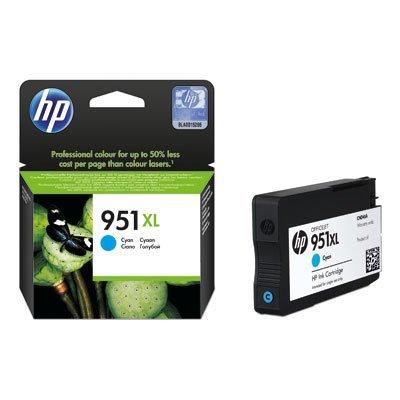 Картридж струйный HP CN046AE (CN046AE)Картриджи для струйных аппаратов HP<br>Картридж струйный HP CN046AE №951XL голубой для Officejet Pro 8100/8600<br>