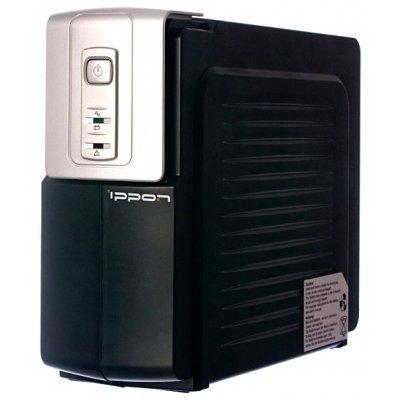 Источник бесперебойного питания Ippon Back Office 1000 (Back Office 1000)Источники бесперебойного питания Ippon<br>Источник бесперебойного питания Ippon Back Office 1000 (600W, 12V/7Ah 2pcs)<br>