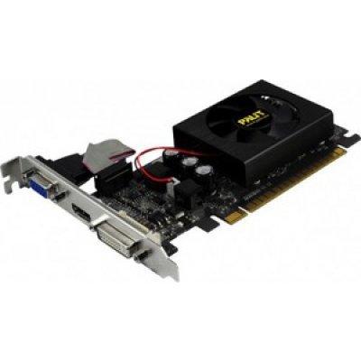 Видеокарта 2048Mb Palit GT610 DDR3 (NEAT6100HD46-119XF) bulk (NEAT6100HD46-119XF bulk)Видеокарты ПК Palit<br>Видеокарта Palit PCI-E NV GT610 2048Mb 64bit (TC) DDR3 HDMI+DVI+CRT bulk<br>