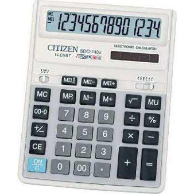 Калькулятор Citizen SDC-740II (SDC-740II)